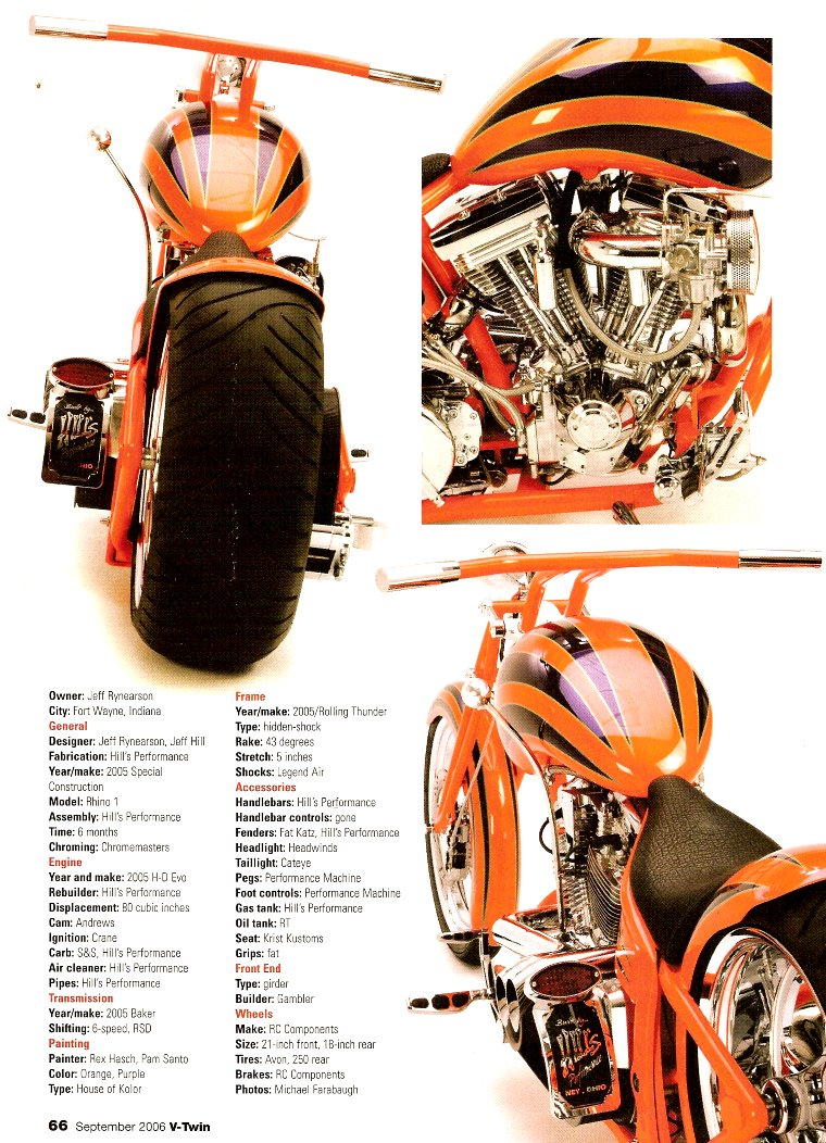 v twin photo shoot amp article